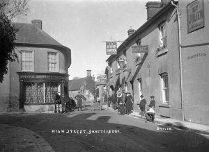Tobys, High Street, Shaftesbury, 1918