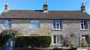 School & Myrtle Cottages Winterbourne Abbas
