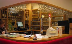 Bridport Arts Centre bar