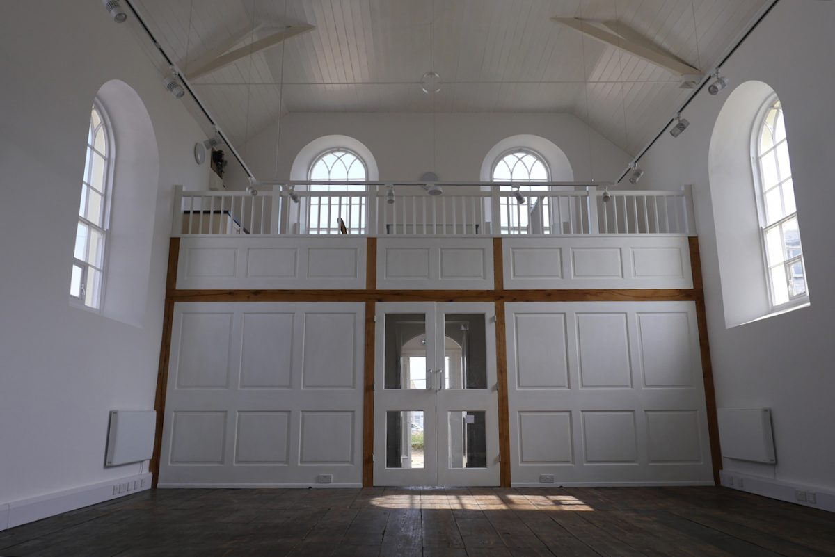 West Bay chapel reopens as visitor centre