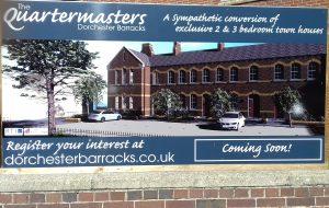 Quartermasters sign