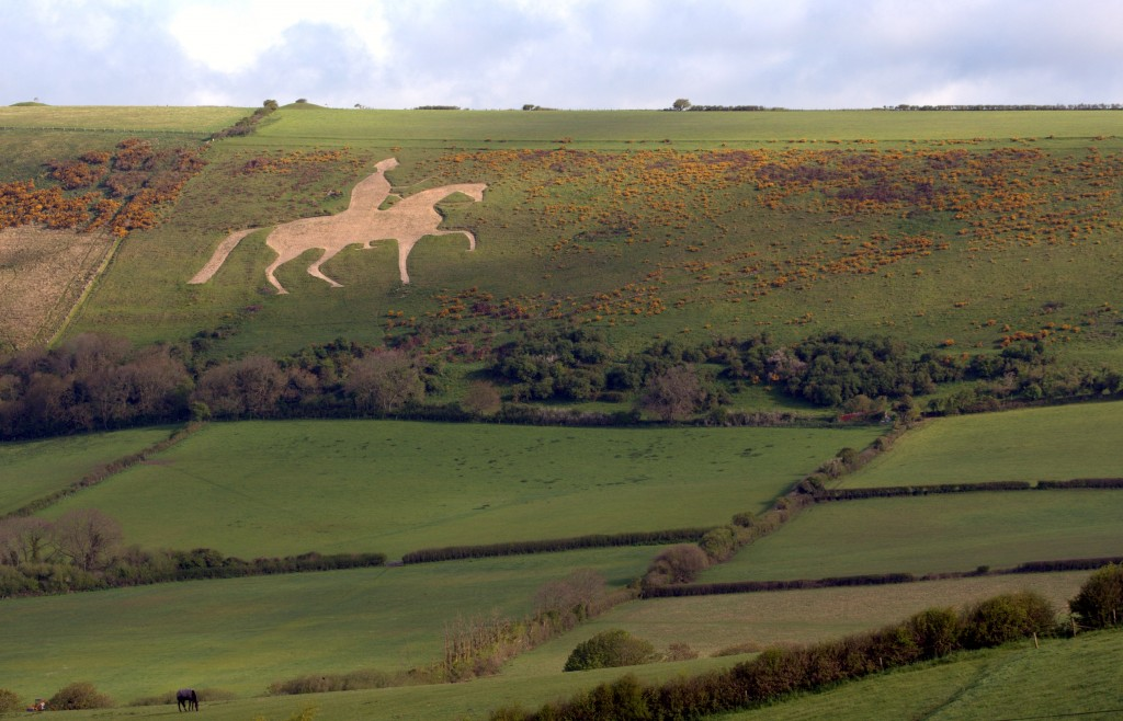 White horse Osmington
