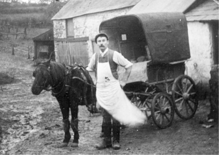 Baker Fred Marsh at Hembury Mill Askerswell