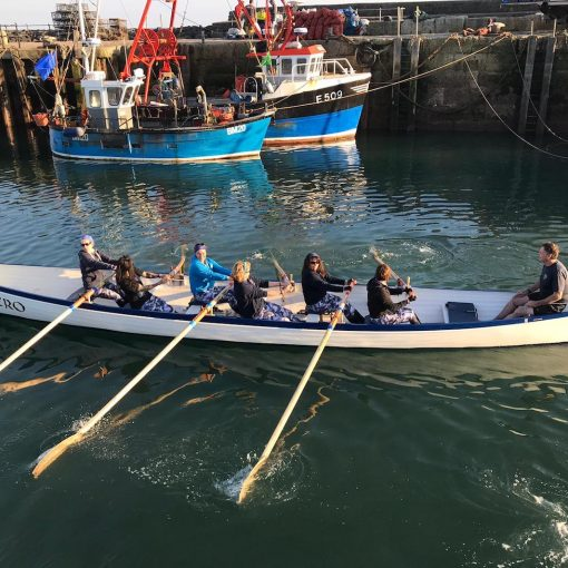 Lyme Regis Gig Club women's veteran team